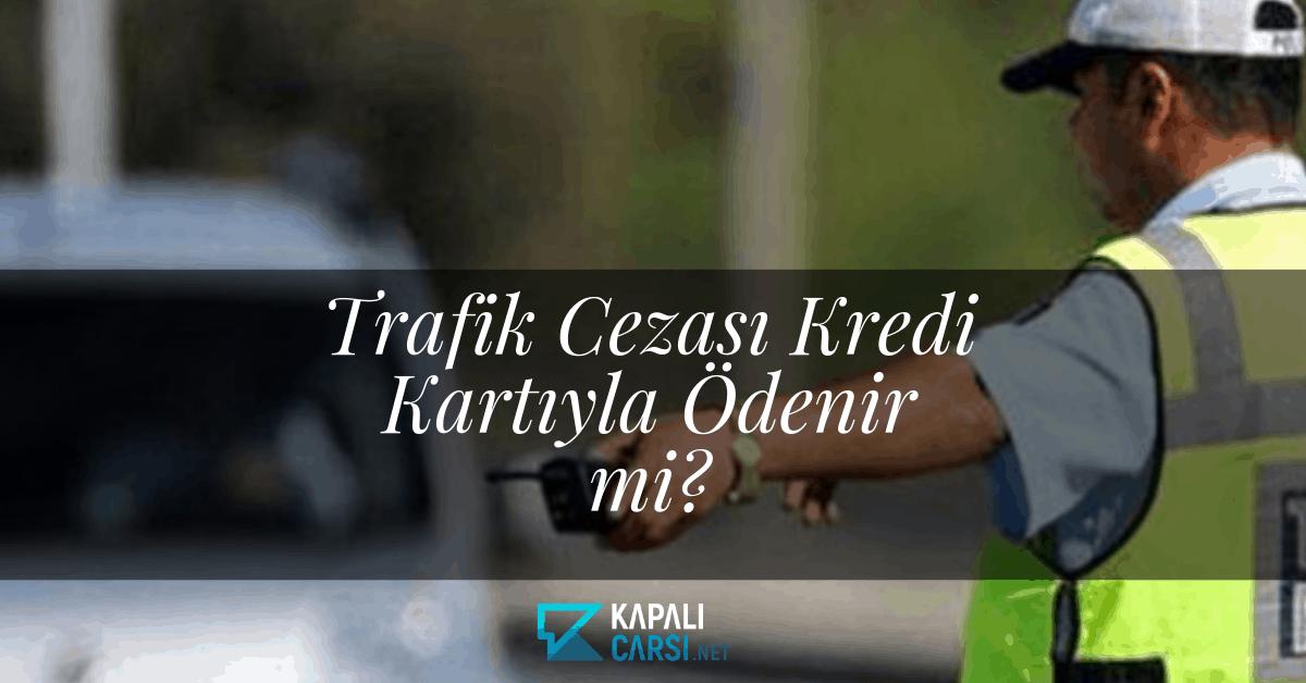 Trafik Cezası Kredi Kartıyla Ödenir mi?