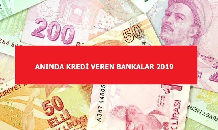 Anında Kredi Veren Bankalar Hangileridir?