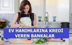 Ev Hanımlarına Kredi Veren Bankalar Hangileridir?