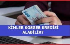 KOSGEB'ten Kimler Yararlanabilir, Kredi Şartları Nelerdir?