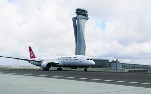 Rüya Uçak İstanbul Havalimanına İniş Yaptı