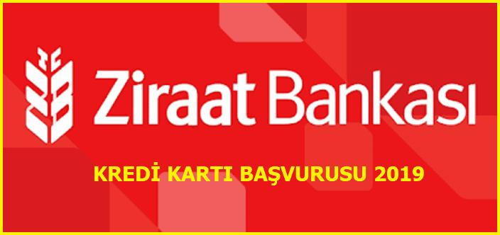 Ziraat Bankası Kredi Kartı Başvurusu 2019