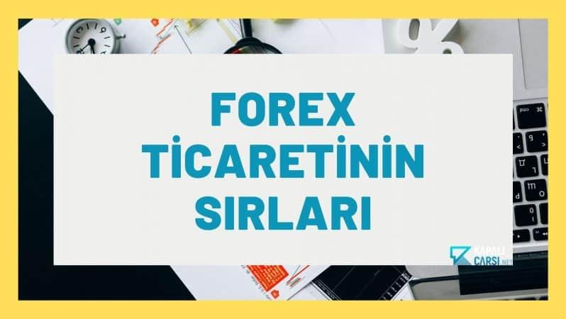 Forex Ticaretinin Sırları