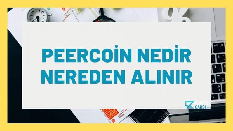 Peercoin Nedir Nereden Alınır