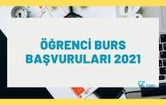 Öğrenci Burs Başvuruları 2021