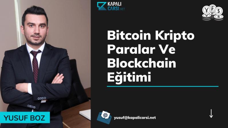 Bitcoin Kripto Paralar Ve Blockchain Eğitimi