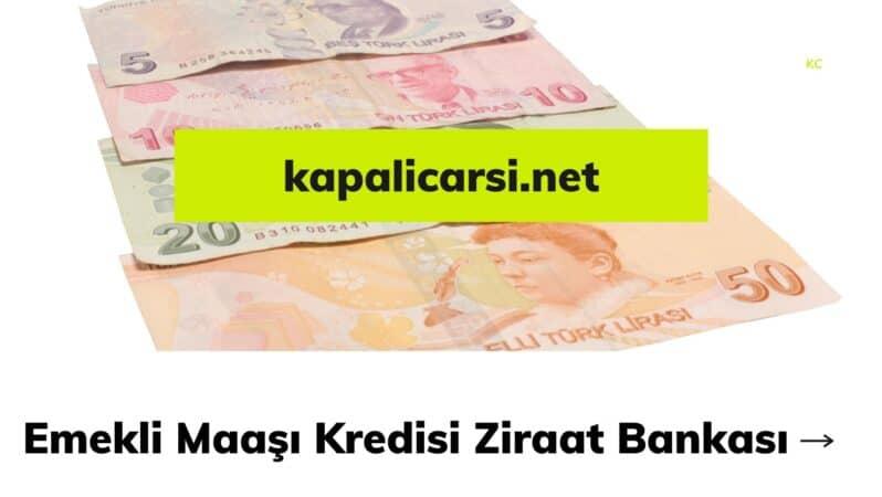 Emekli Maaşı Kredisi Ziraat Bankası
