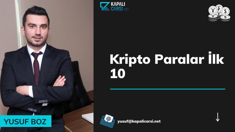 Kripto Paralar İlk 10