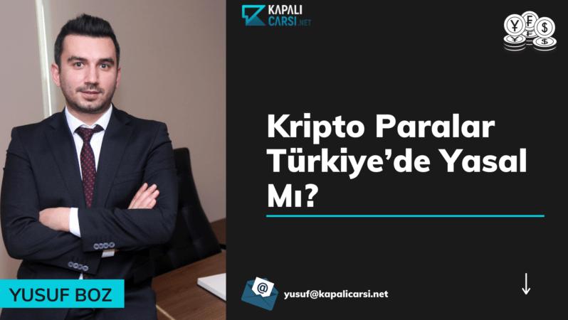 Kripto Paralar Türkiye'de Yasal Mı? Suç Kapsamında Mı?